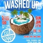 Washed Up - Australia Day Weekend ft CUTSNAKE