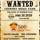 500 Miles Of Music _ The Barn At Wombat Flat  @ Full Tour pass here
