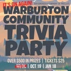 Warburton Community Trivia Party | OCT 19