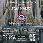 Between the Line Presents: Emo Night #2 @ Transit