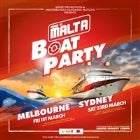 Made in Malta Boat Party Melbourne