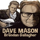 Dave Mason (The Reels) with Brendan Gallagher