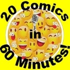 20 Comics in 60 Mins Comedy Slam 7:00pm 2 for 1