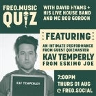 Freo.Music Quiz with Kav Temperley