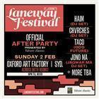 Sydney Laneway Afterparty 2014