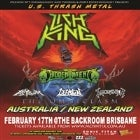 Lich King (US) Omniclasm AUS/NZ Tour w/ Hidden Intent - Brisbane