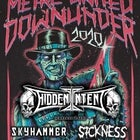 Metal United Downunder 2020 Featuring:Hidden Intent,Skyhammer,Sickness & Sloven