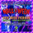 Big Fish Little Fish Brisbane Halloween Family Rave - Peewee Ferris - BeXta - Binary Finary