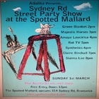 Adalita Presents the Sydney Rd Street Party Line Up at the Spotted Mallard
