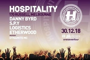 Hospitality ft. DANNY BYRD, S.P.Y, LOGISTICS, ETHERWOOD & DYNAMITE MC