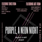 Purple, A Neon Night