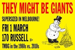 AN EVENING WITH THEY MIGHT BE GIANTS (USA) - 1980's vs 2010's
