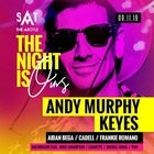 The Night Is Ours ft. Andy Murphy & Keyes