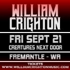 WILLIAM CRIGHTON - Empire Tour 2018