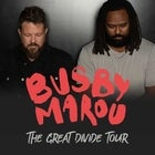 BUSBY MAROU - THE GREAT DIVIDE TOUR WITH BOBBY ALU