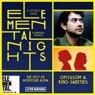 ELEMENTAL NIGHTS: OPOSSOM & KING SWEETIES