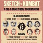 "SKETCH THE RHYME ""SKETCH KOMBAT ROUND 1 - BLUE MOUNTAINS VS SYDNEY"""