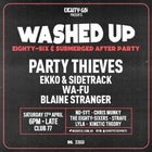 Washed Up: An Eighty-Six & Submerged Afterparty