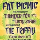 Fat Picnic w/ Thunder Fox (SYD) & Lucid Safari