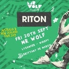 Mr Wolf pres. Riton | Fri 20th September