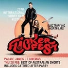 BRISBANE FLiCKERFEST 2020 - Best Of Australian Shorts - 7pm Thur 20 Feb, 2020