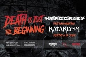 HYPOCRISY (Sweden) + KATAKLYSM (Canada)