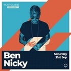 Marquee Saturdays - Ben Nicky