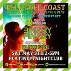 Gold Coast BFLF Launch Event feat. Binary Finary and Nik Fish