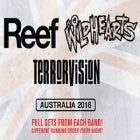 THE WILDHEARTS (UK) + TERRORVISION (UK) + REEF (UK)