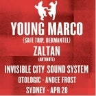 ANIMALS DANCING: YOUNG MARCO + ZALTAN + INVISIBLE CITY SOUNDSYSTEM