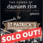 The songs of Damien Rice - performed by Bryan R Dalton, Fiona Rea, Nigel Healy and John McCarthy