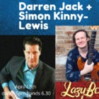 Simon Kinny-Lewis Band with Darren Jack - for the Blues