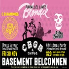 CBGB's Fancy Dress Christmas Party!! Blondie // Ramones // Misfits Tribute Show