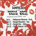 SAMPOLOGY w/ Middle Name Dance Band