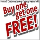 BonkerZ Celebrates The Sydney Comedy Festival with 2 for 1