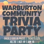 Warburton Community Trivia Party | JUL 20