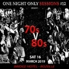 One Night Only Sessions...