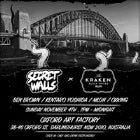 SECRET WALLS X SYDNEY 2018 - #PaintWillSpill WORLD TOUR
