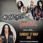 Crashdiet & Jizzy Pearls Love Hate