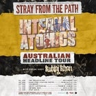 "Stray From The Path ""Internal Atomics"" Aust Tour Plus Kublai Khan & More"