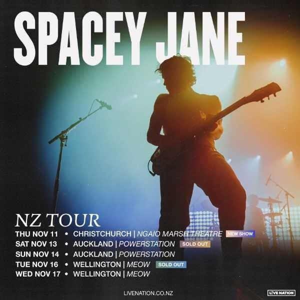 Spacey Jane NZ Tour