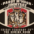 Paddy McHugh & Jimmy Bay at The Sewing Room
