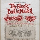 THE BLACK DAHLIA MURDER + ABORTED + ZEOLITE