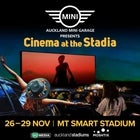 Auckland MINI Garage Presents CINEMA AT THE STADIA