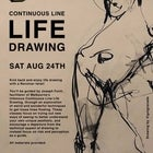 Revolver Upstairs Continuous Line Life Drawing