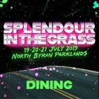 Icebergs Dining at Splendour in the Grass
