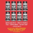 Salty Noise Records Takeover w/ Quite Like Pete // Pretty People // Fika // Cuppa Shred // Potent Soap