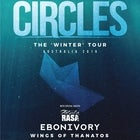CIRCLES The 'Winter' Tour w/ Tabula Rasa + Ebonivory + Wings of Thanatos