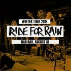 Ride For Rain // Crushed Tinniez // Starting Monday // The Tin Knees