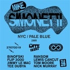 THE LATE SHOW PRESENTS MIKE SIMONETTI (NYC / PALE BLUE / 2MR)